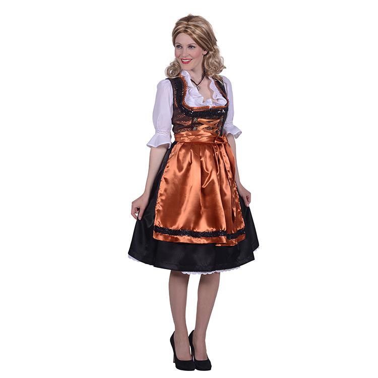 ca3c28977759af Luxe Tiroler dirndl jurk maat 42