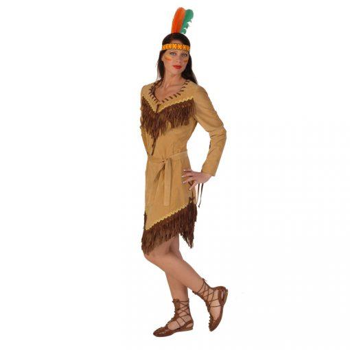 luxe indianen jurkje huren.