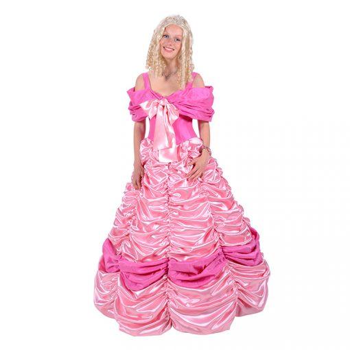 prinsessen jurk roze 1333-001