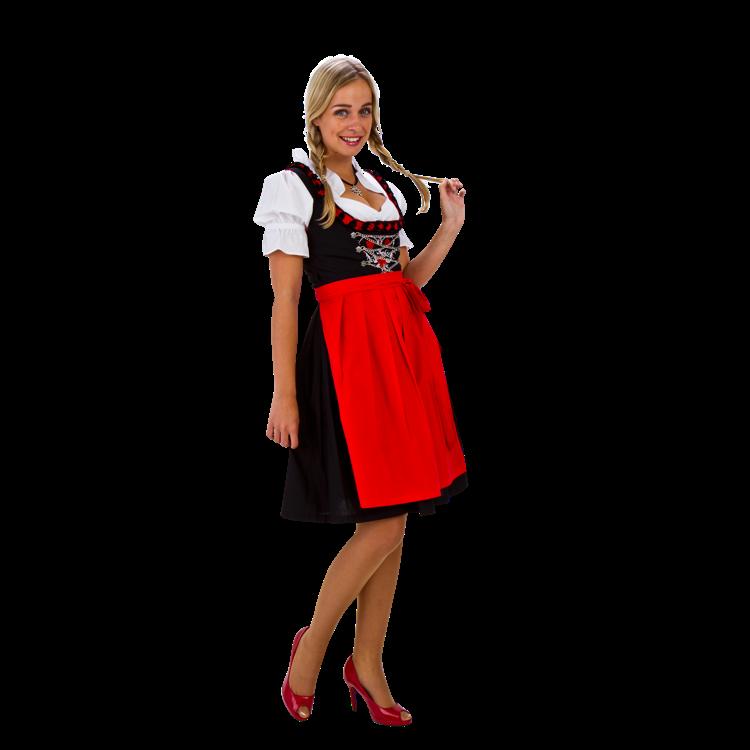 ce9ff350a44eeb Tiroler dirndl jurkje rood maat 52